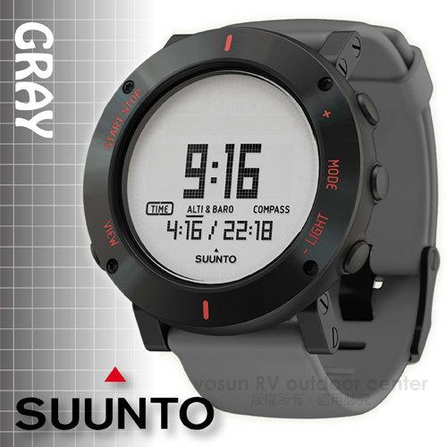 【芬蘭 SUUNTO】公司貨 最新款 New Core Gary Crush 核心心動系列 運動登山錶.氣象錶_心動灰 SS020691000