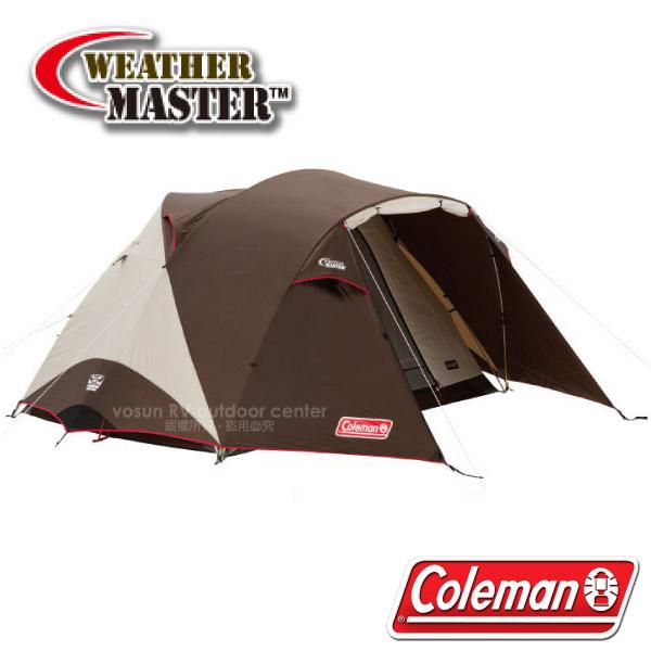 【美国Coleman】气候达人BREATHE圆顶帐篷/300IV(4-6人帐.300x300cm)/耐水压3000/CM-27281