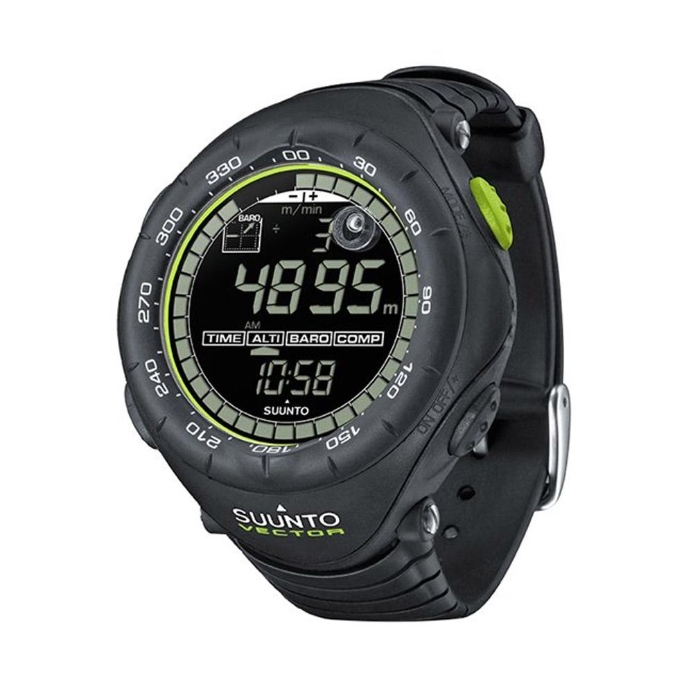 SUUNTO 限量新款!!! 天行者極限運動登山錶---Vector Black Lime 芬蘭製造  SS018729000