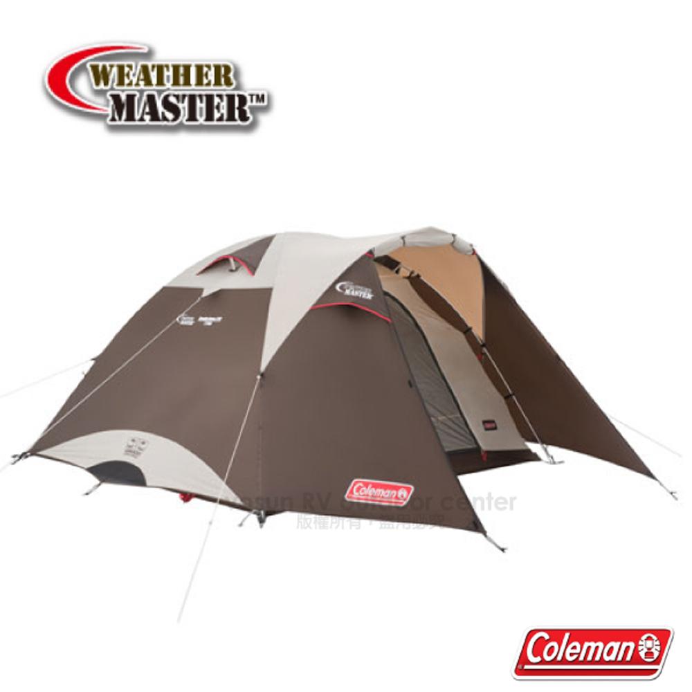 【美国Coleman】气候达人BREATHE圆顶帐篷/270IV(4-5人帐).270帐棚.透气帐蓬/耐水压3000/CM-27282