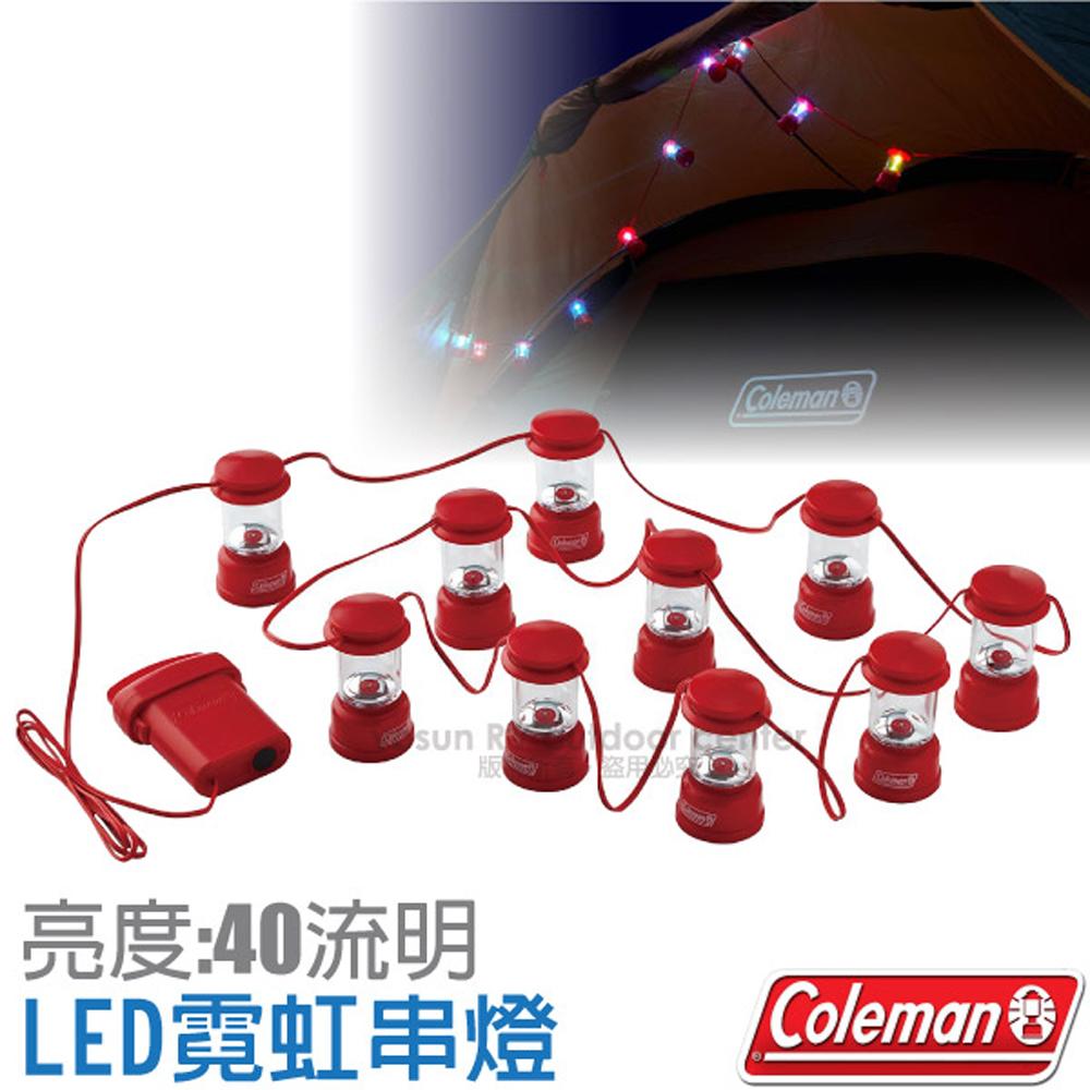 【美國 Coleman】高亮度LED霓虹串燈(全長2.8m).客廳帳棚裝飾燈串.小夜燈.小吊燈.氣氛燈/CM-31280
