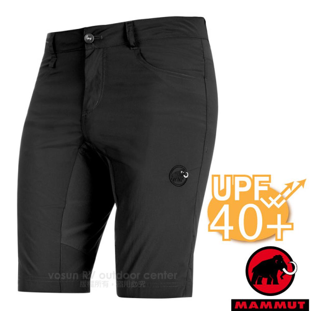 【MAMMUT 長毛象】Runbold Light Shorts 男新款 彈性透氣休閒運動短褲(UPF40+).健行褲/09872-0121 石墨灰