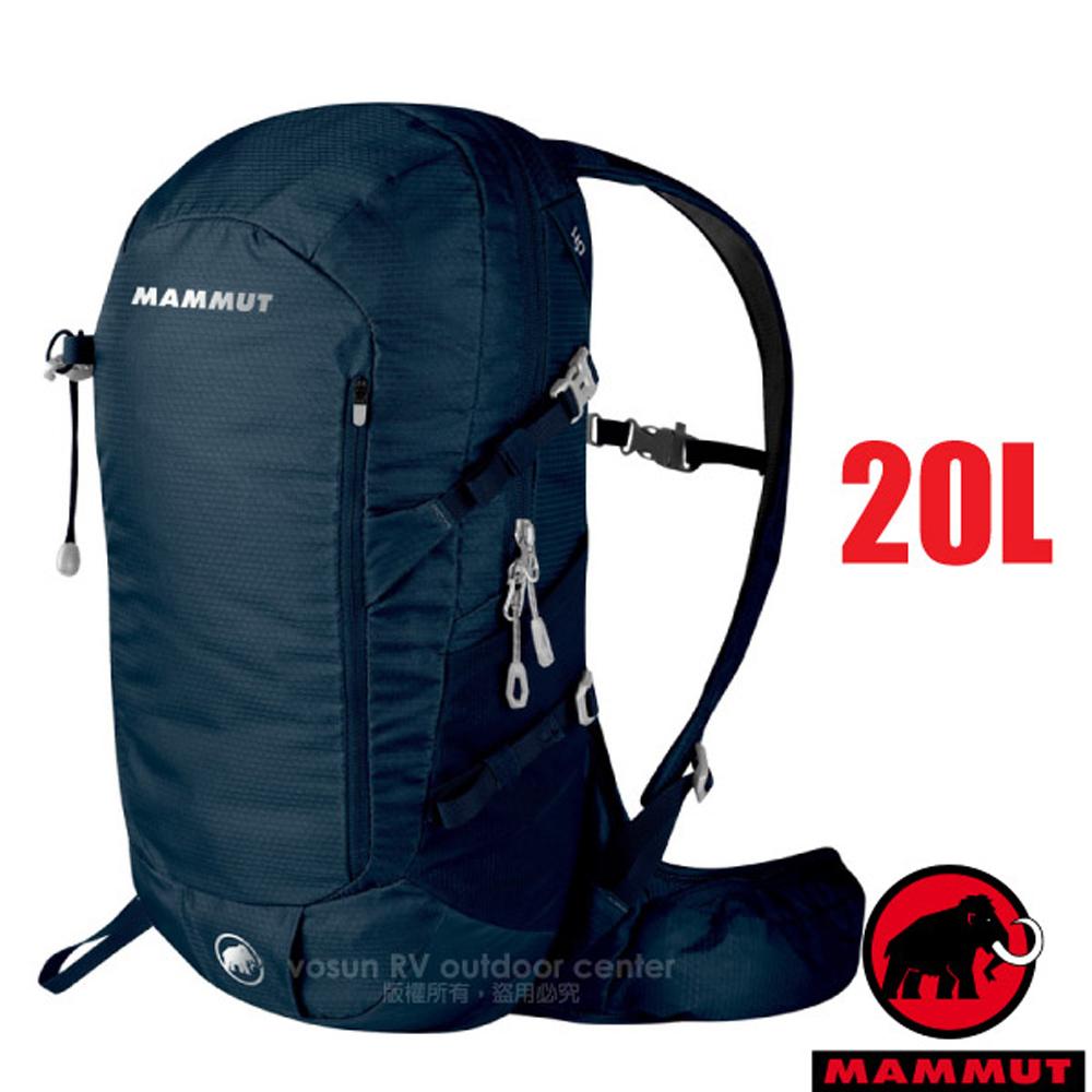 【瑞士 MAMMUT 長毛象】新款 Lithium Speed 輕量登山健行攀登背包20L.日用包/ 03171-50011 冠藍鴉