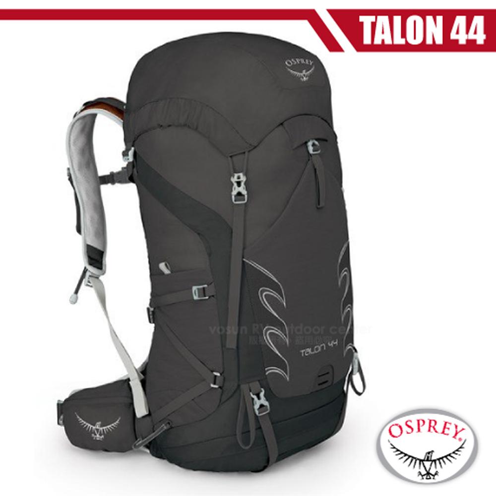 【美國 OSPREY】新款 Talon 44 輕量透氣健行登山背包(水袋隔間+登山杖扣)自助旅行.出國旅遊_黑 R