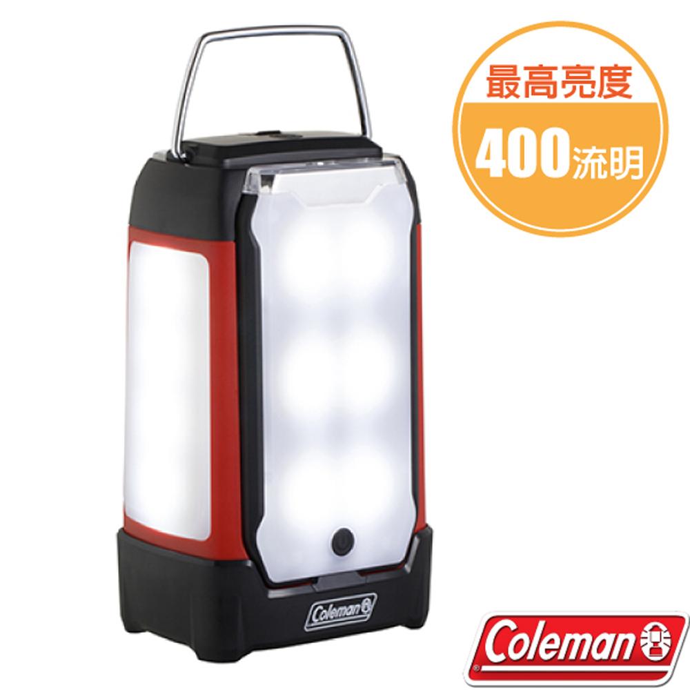 【美國 Coleman】DUO 面板型營燈 (400流明.650g).手電筒.天幕帳棚野營燈.照明燈/CM-33144