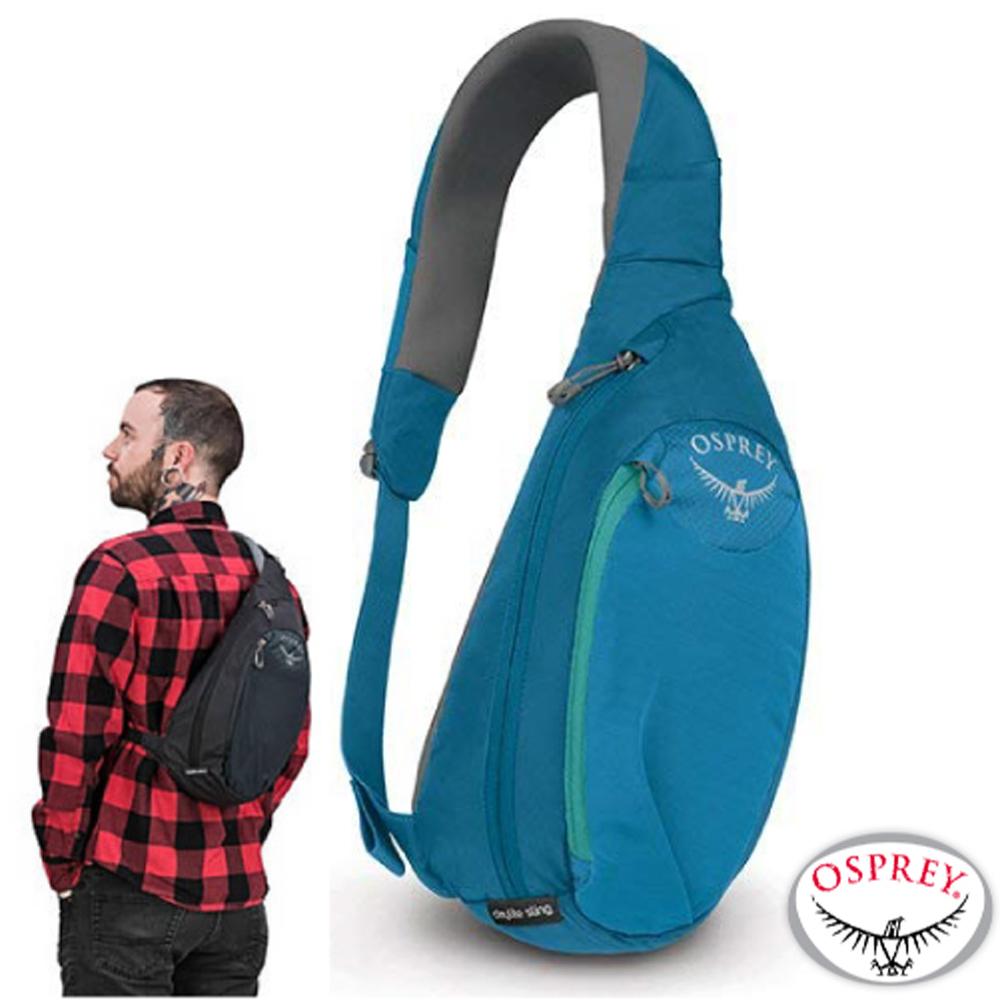 【美國 OSPREY】Daylite Sling 6L 輕量多功能休閒單肩背包(高品質YKK拉鍊).斜背包.側背包/山艾藍 R