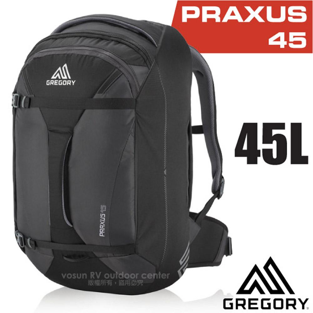 【美国 GREGORY】新款 Praxus 45 多功能可背可提旅行背包.行李箱袋/商务旅行.旅游/104079 像素黑