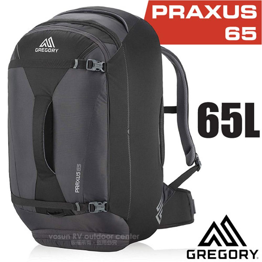 【美国 GREGORY】新款 Praxus 65 多功能可背可提旅行背包.行李箱袋/商务旅行.旅游/104086 像素黑