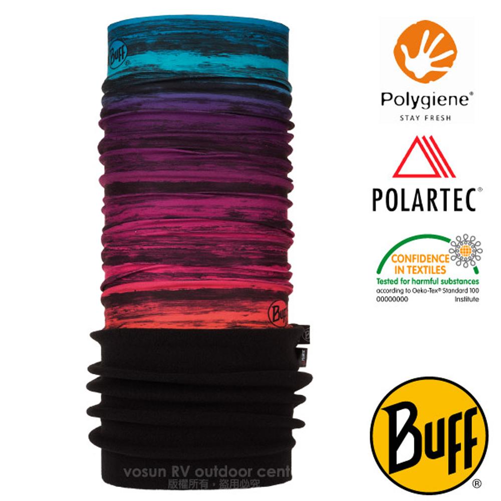 【西班牙 BUFF】POLARTEC 超彈性保暖魔術頭巾PLUS.可當圍巾_口罩_圍脖帽子_118038 夢幻色彩