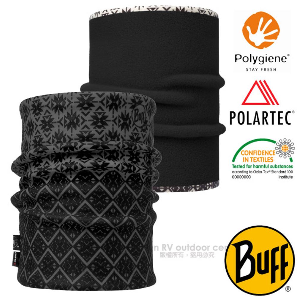 【西班牙 BUFF】POLARTEC 雙面用超彈性保暖領巾.魔術頭巾.圍巾_口罩_圍脖帽子_115319 非凡品味