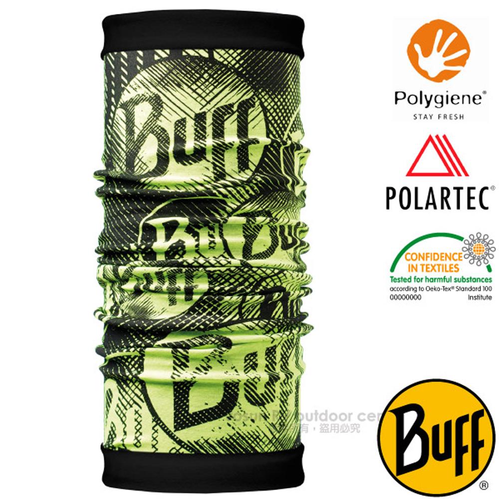 【西班牙 BUFF】POLARTEC 雙面用超彈性保暖魔術頭巾PLUS.可當圍巾_口罩_圍脖帽子_118045 出眾BUFF