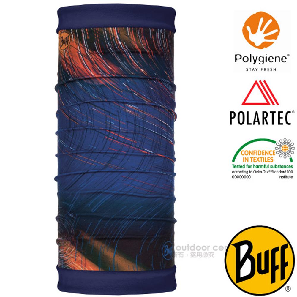 【西班牙 BUFF】POLARTEC 雙面用超彈性保暖魔術頭巾PLUS_口罩_圍脖帽子_118047 風之力場