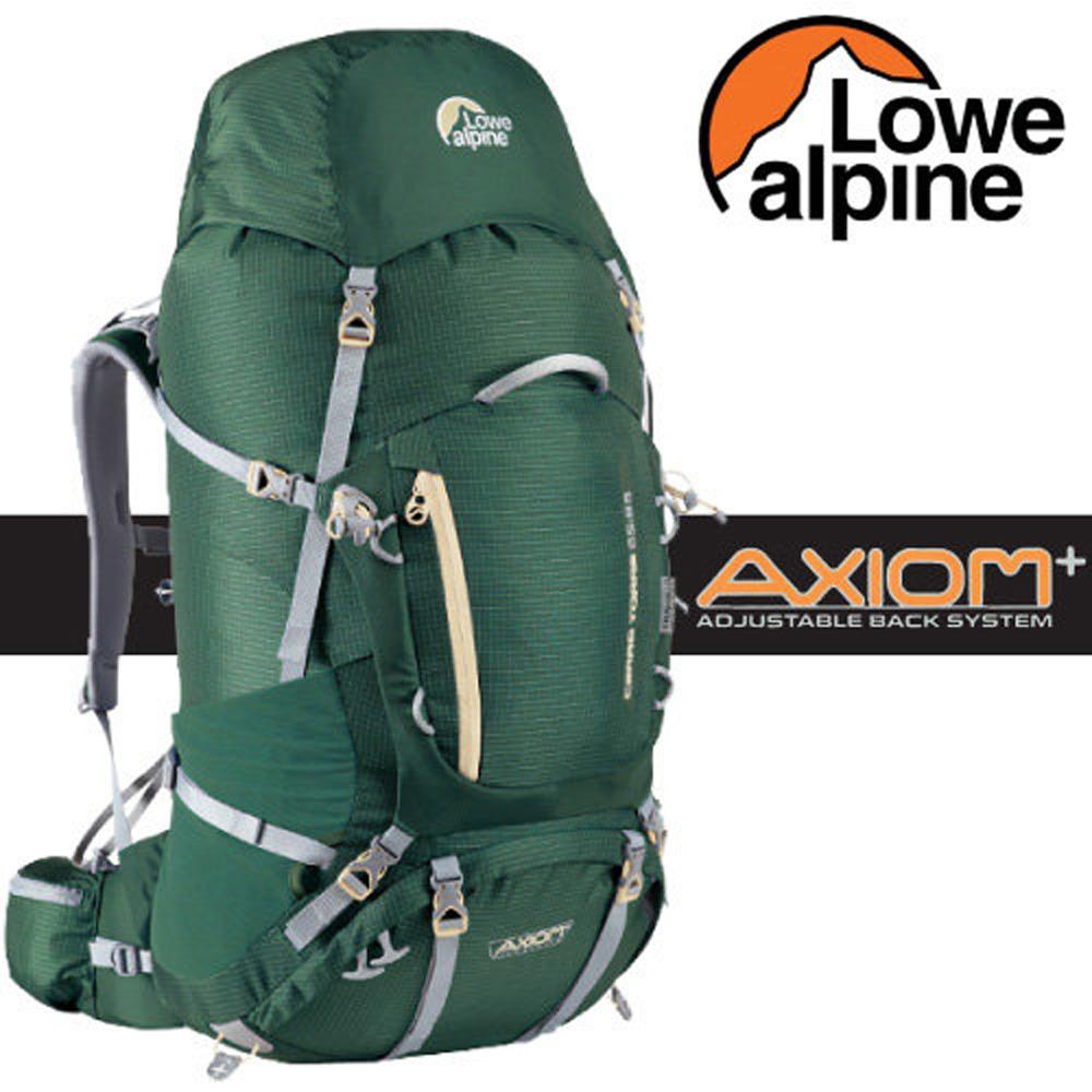 【英國 LOWE ALPINE】新款 AXIOM+ Cerro Torre 65:85 輕量透氣健行登山背包(含背包套)/FBP59CR 鱷魚綠*