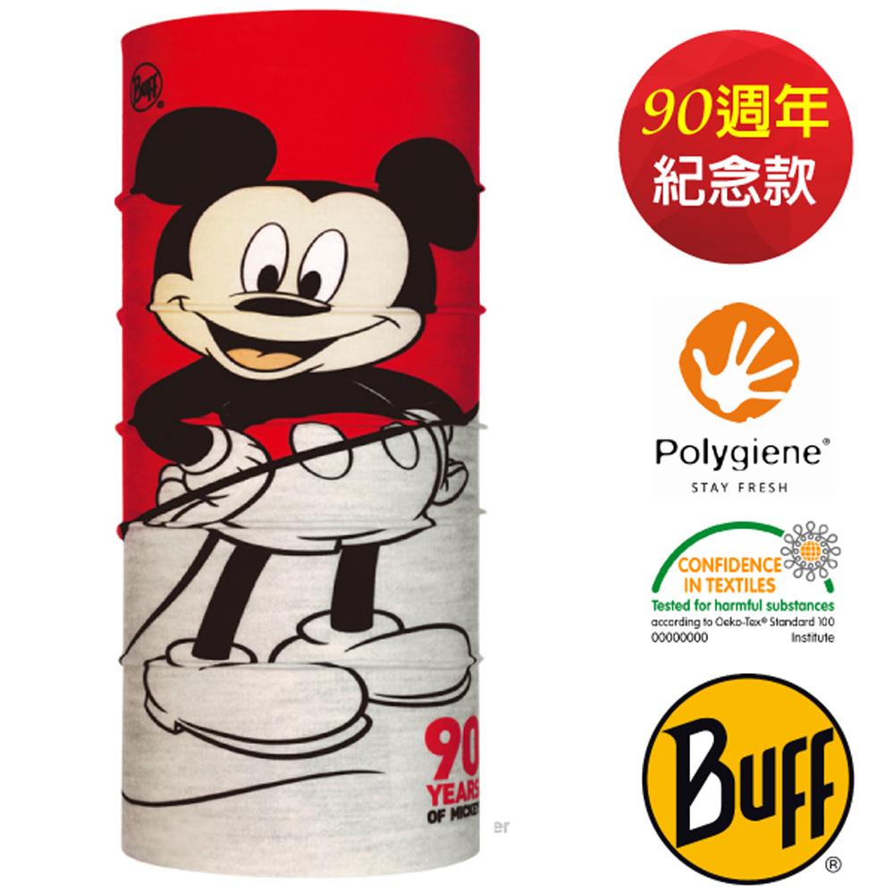 【西班牙 BUFF】90周年紀念款 迪士尼授權 兒童款 超彈性魔術頭巾PLUS.可圍脖帽子_121577 Plus-經典90