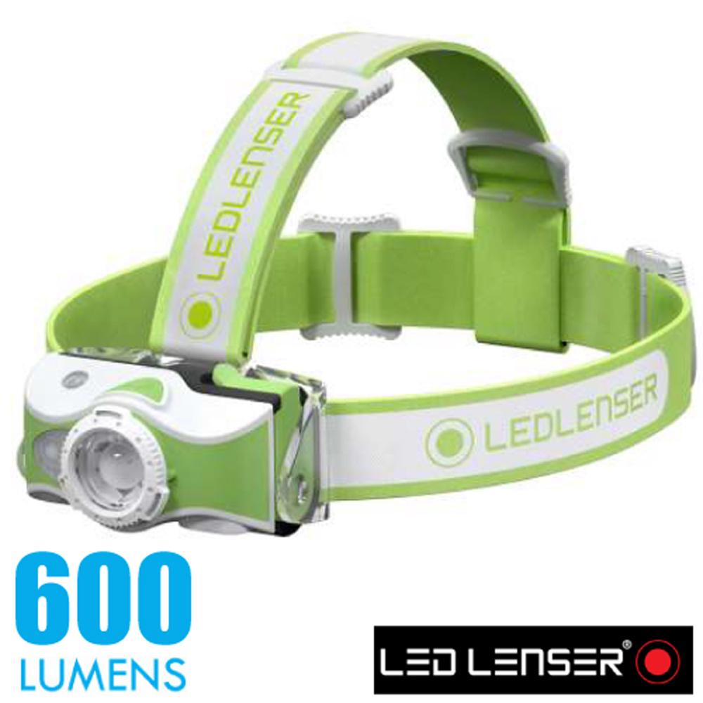 【德國 LED LENSER】MH7 專業伸縮調焦充電型頭燈(600流明/IP54防水).電子燈/緊急照明_500991 綠