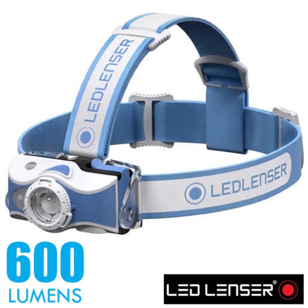 【德國 LED LENSER】MH7 專業伸縮調焦充電型頭燈(600流明/IP54防水).電子燈/緊急照明_500992 藍