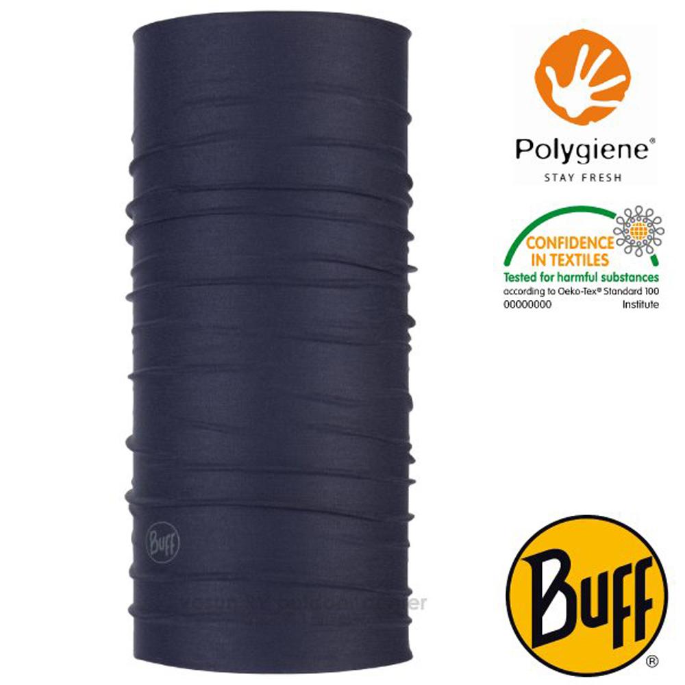 【西班牙 BUFF】Coolnet UV 超輕量彈性透氣魔術頭巾(吸溼排汗+抗菌除臭)_119328 沉穩深藍