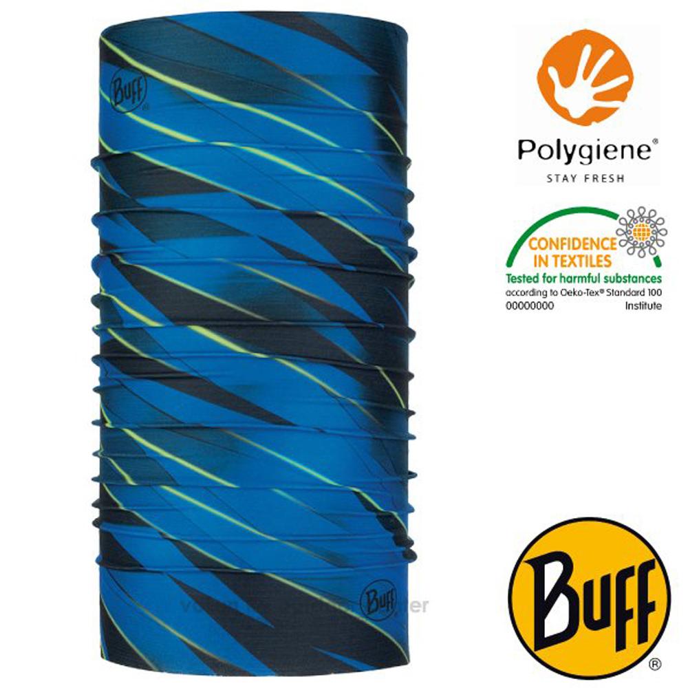 【西班牙 BUFF】Coolnet UV 超輕量彈性透氣魔術頭巾(吸溼排汗+抗菌除臭)_119352 深海焦點