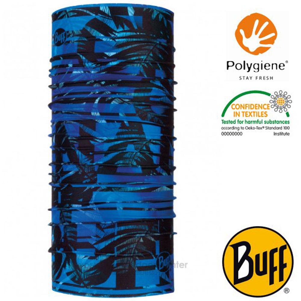 【西班牙 BUFF】Coolnet UV 超輕量彈性透氣魔術頭巾(吸溼排汗+抗菌除臭)_119358 寶藍叢林