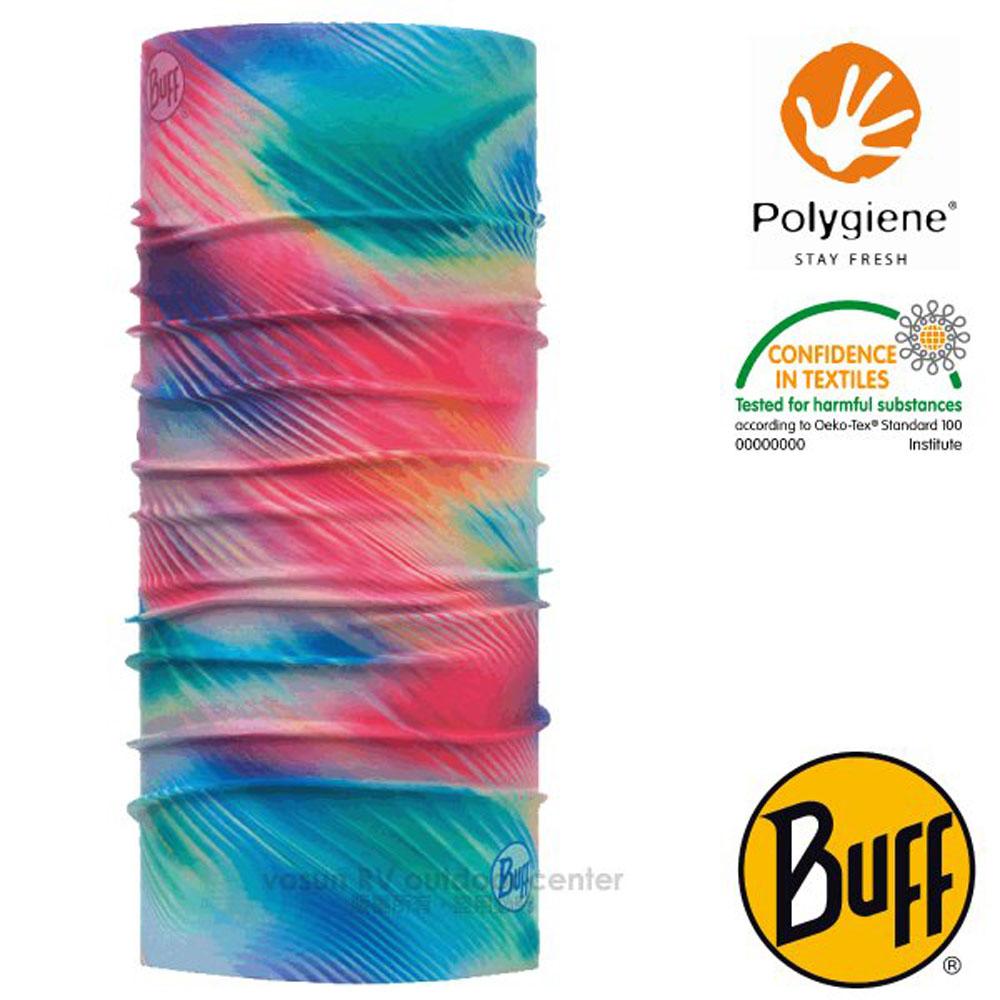 【西班牙 BUFF】Coolnet UV 超輕量彈性透氣魔術頭巾(吸溼排汗+抗菌除臭)_119376 律動粉紅