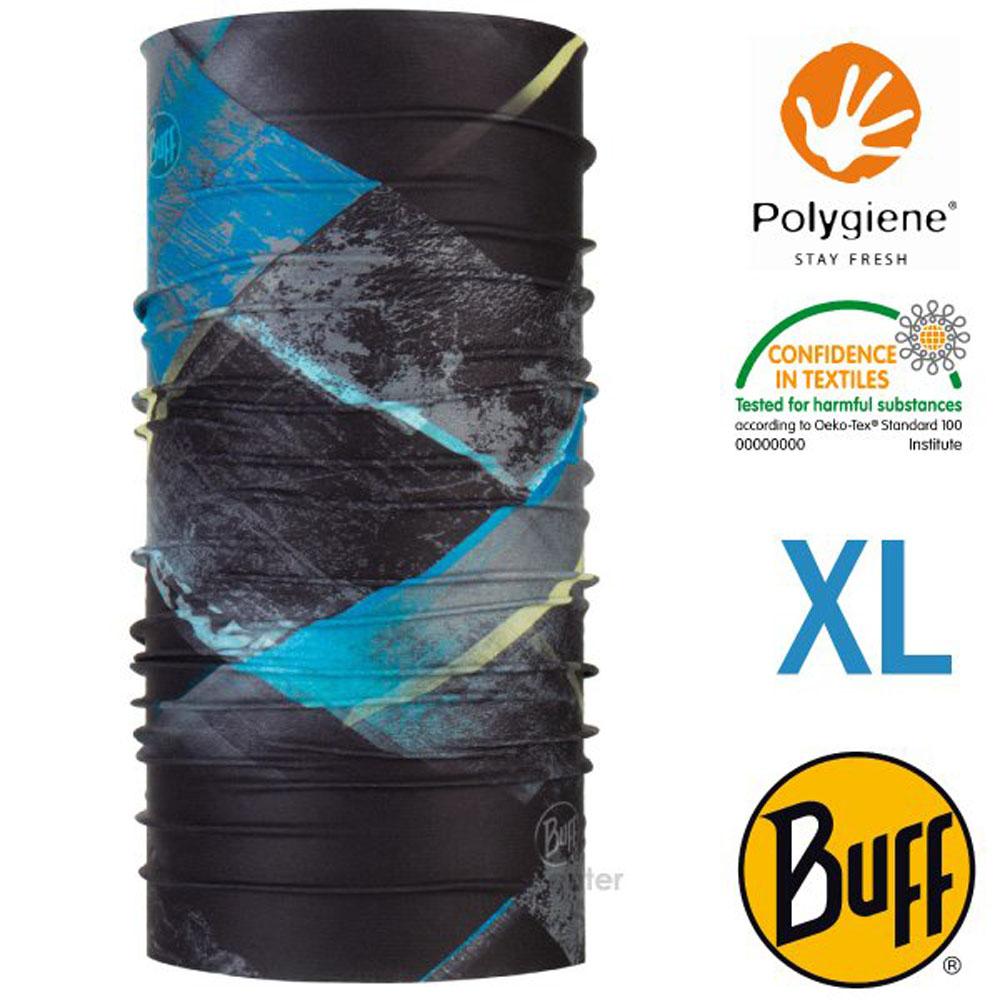 【西班牙 BUFF】Coolnet UV 超輕量彈性透氣魔術頭巾XL(吸溼排汗+抗菌除臭)_119395 璀璨星空