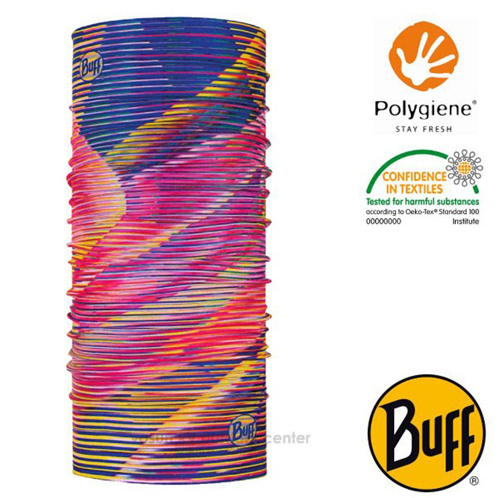 【西班牙 BUFF】Coolnet UV 超輕量彈性透氣魔術頭巾(吸溼排汗+抗菌除臭)_119375 淘氣彩虹