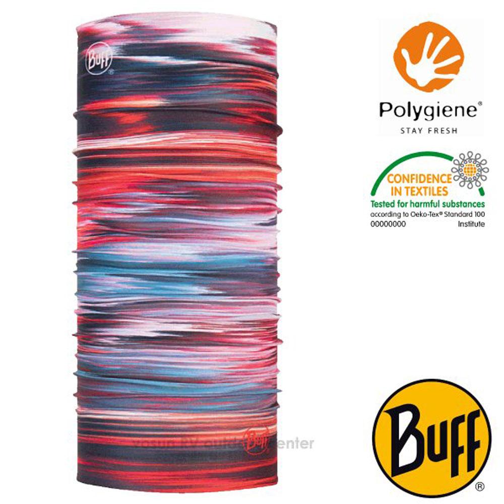 【西班牙 BUFF】Coolnet UV 超輕量彈性透氣魔術頭巾(吸溼排汗+抗菌除臭)_119374 神秘月紅