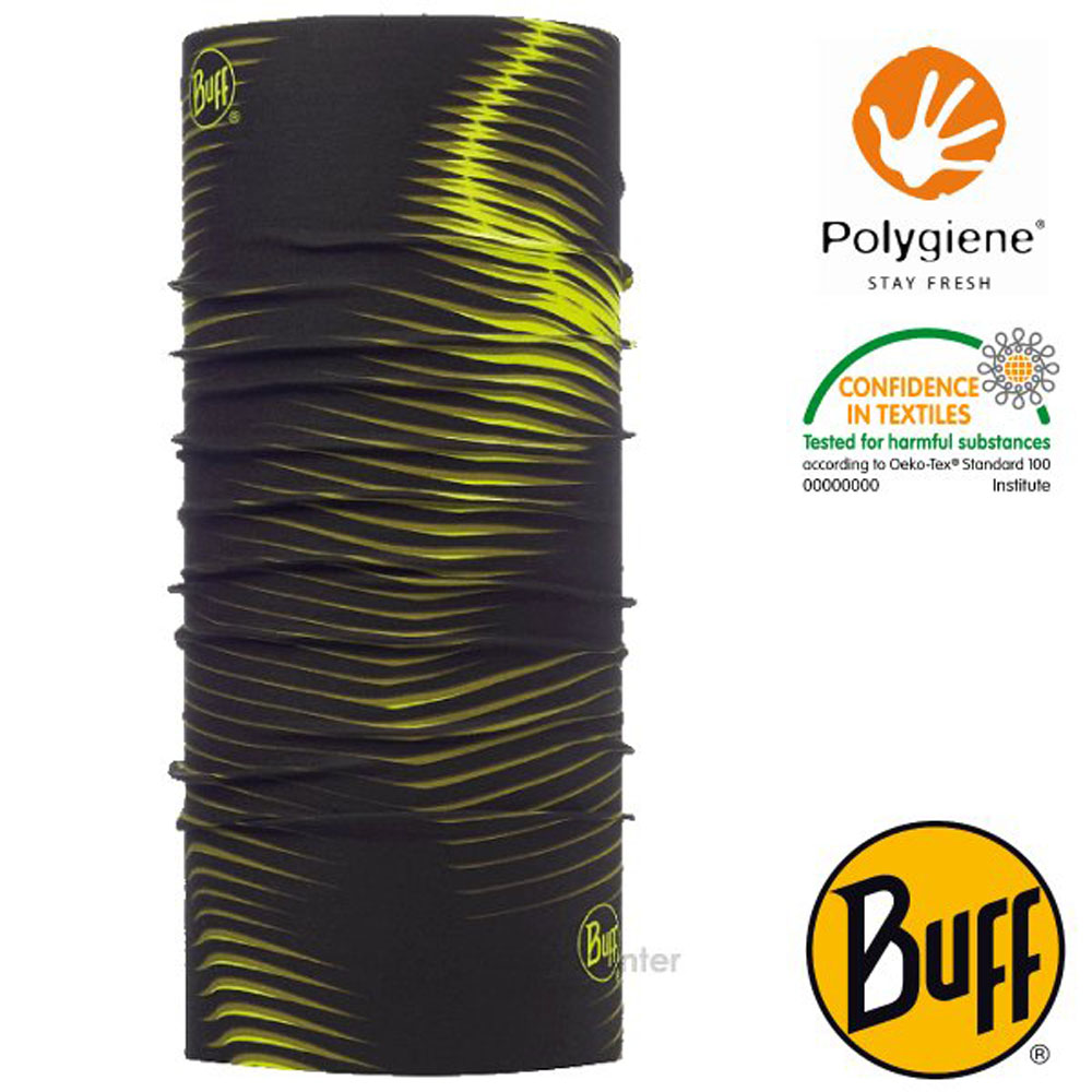 【西班牙 BUFF】Coolnet UV 超輕量彈性透氣魔術頭巾(吸溼排汗+抗菌除臭)_119353 螢光提案