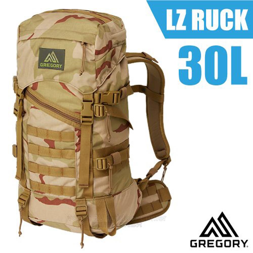 【美國 GREGORY】LZ Ruck 30L 1680D超耐磨抗震透氣登山健行後背包_68638 三日迷彩