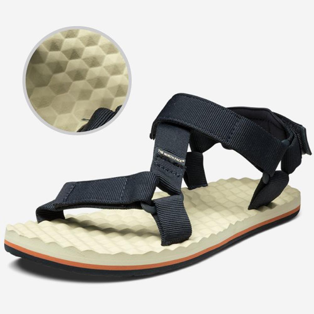 【美國 The North Face】男款 SWITCHBACK SANDAL 可調式織帶涼鞋/拖鞋/水陸兩用涼鞋 2Y97 深藍/橘 V