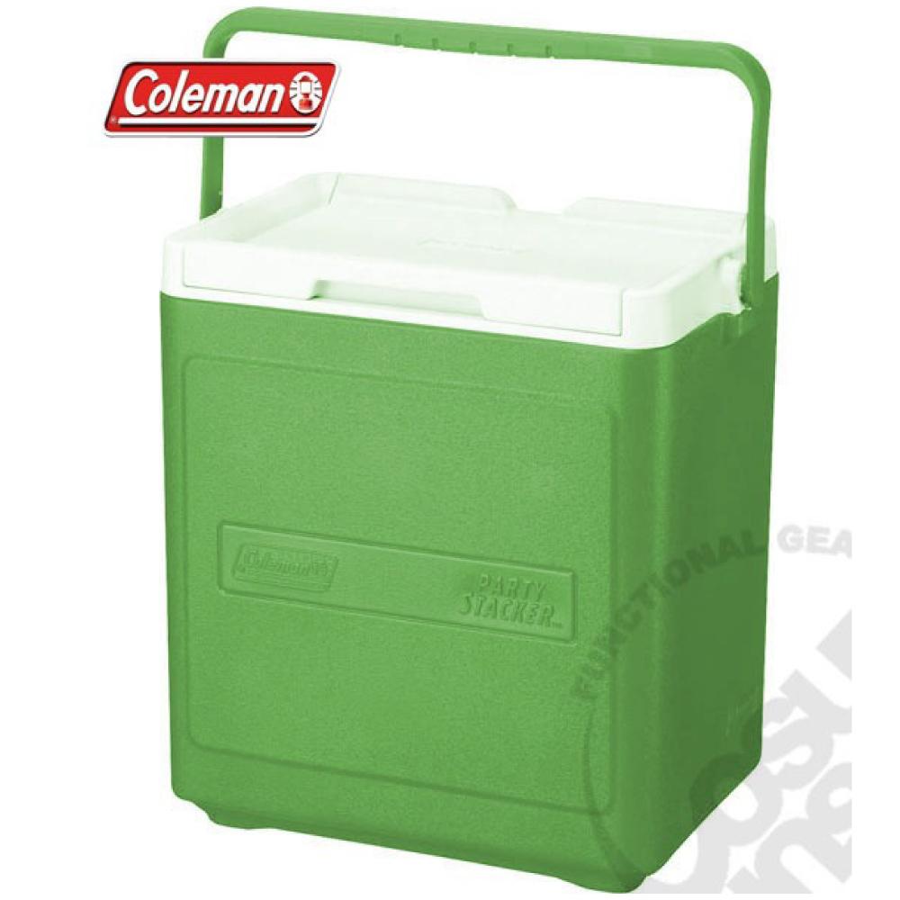【美國 Coleman】 17L置物型冰桶(原廠公司貨).行動冰箱.行動冰筒.小型冰箱.冰筒.冰箱/CM-1323