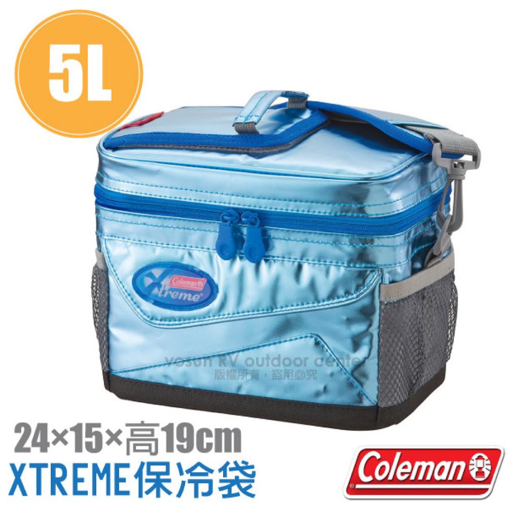 【美國 Coleman】5L XTREME軟式保冷袋.保冰袋.保溫袋.行動冰桶.保冰保鮮冰箱.午餐盒/CM-22237