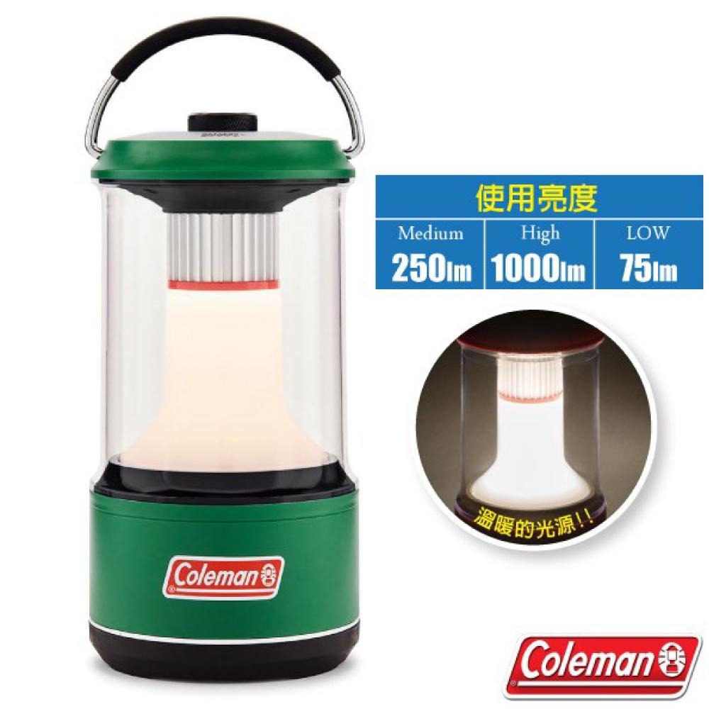 【美國 Coleman】BG LED 帳蓬露營營燈(防水性能IPX4.570g).天幕帳棚野營燈.LED照明燈/CM-34244 綠