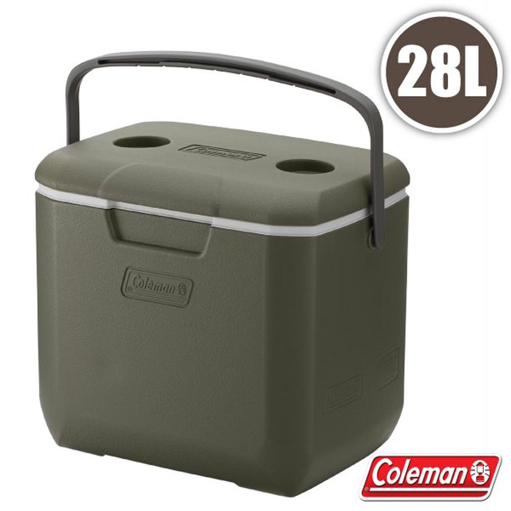 【美國 Coleman】限量款 EXCURSION 28L 二日鮮冰箱.高效能行動冰箱.保冷保冰箱_CM-35105 橄欖綠