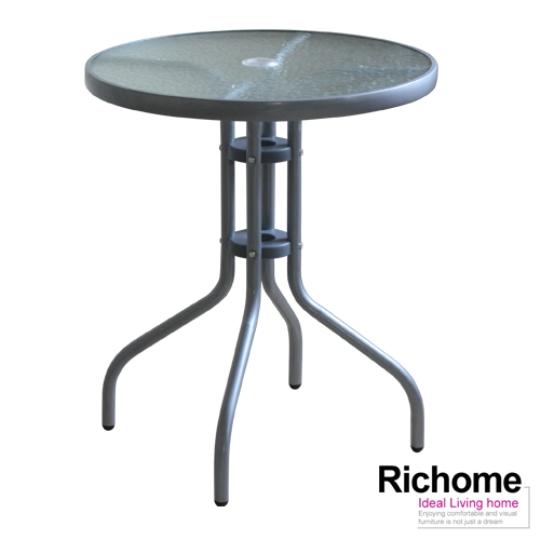 (原价1099元)【RICHOME】奥利尔玻璃圆桌