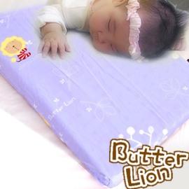 【奶油狮】马来西亚天然乳胶婴儿趴睡枕(幻紫)