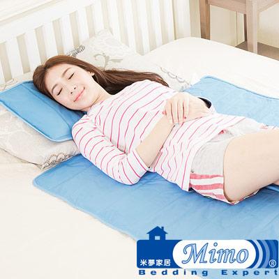 【米夢家居】嚴選長效型降6度冰砂冰涼墊(小)30*40cm枕頭專用-2入