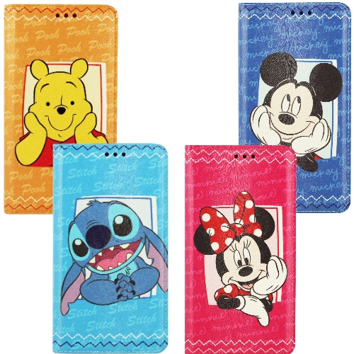 【Disney】Apple iPhone 6 (4.7吋) 哈囉系列 隱磁側掀皮套
