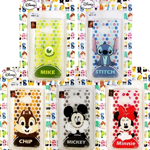 【Disney】HTC One M9  M9 Plus 點點滿版系列 彩繪透明保護軟套