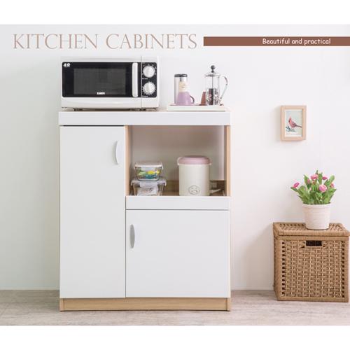 【洛克】麥堤鏡面廚房收納櫃