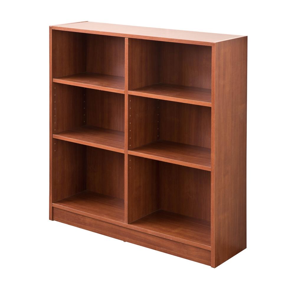 【洛克】居家矮六格書櫃/收納櫃