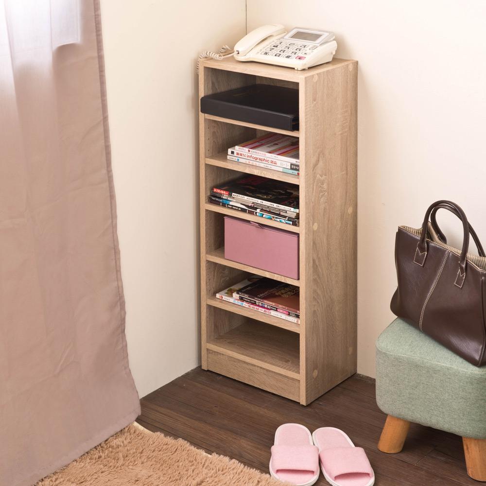 【洛克】居家矮間隙櫃-淺橡木