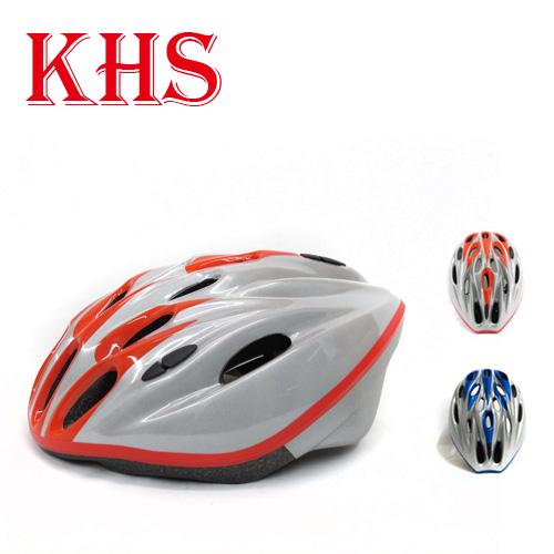 KHS 360度反光式單車安全帽 紅