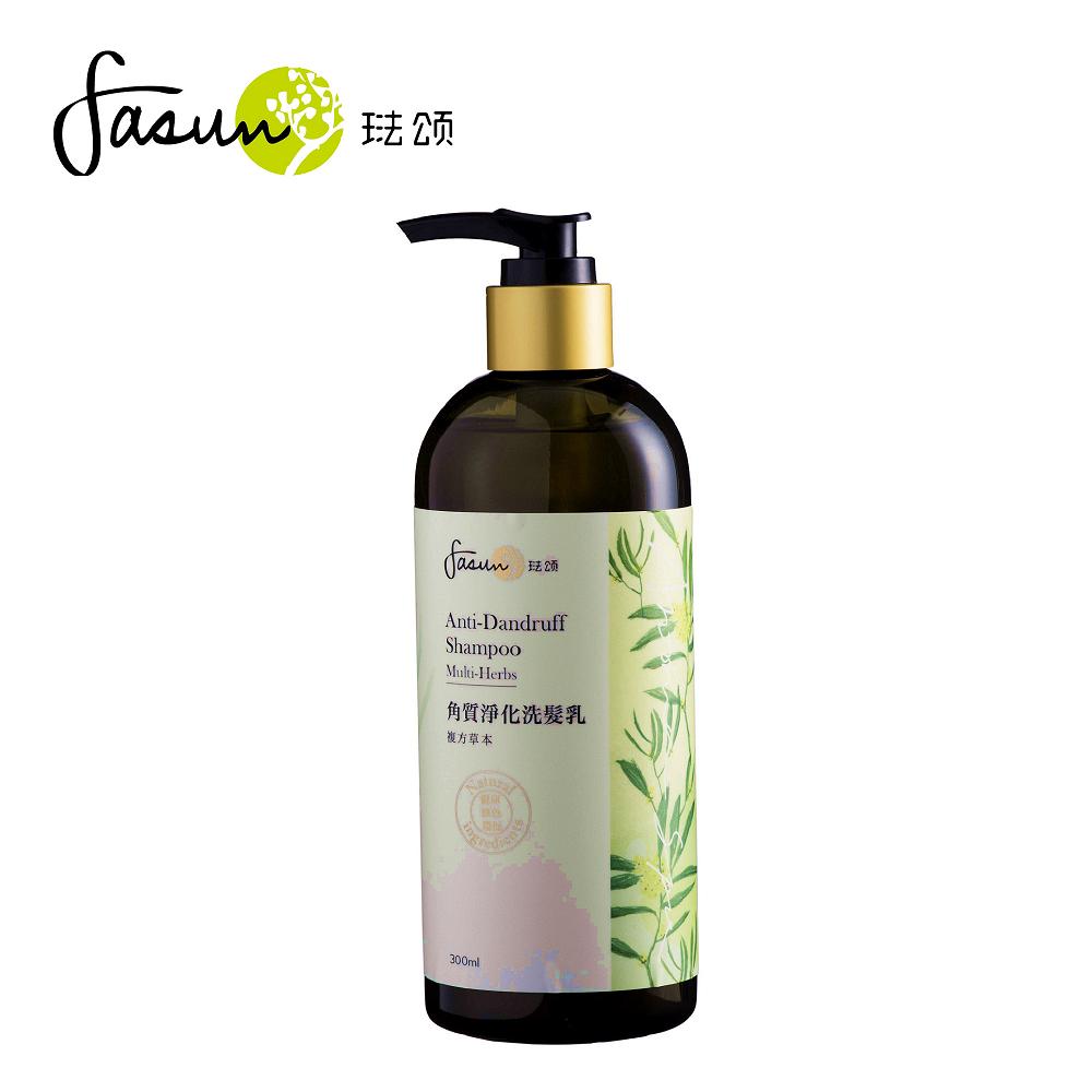 FASUN琺頌-角質淨化洗髮乳-複方草本 300ml /1 瓶