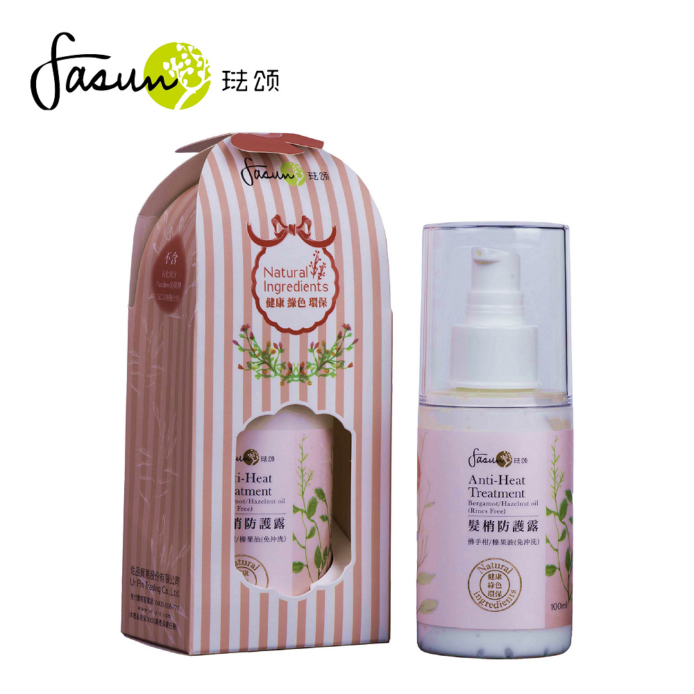 FASUN琺頌-SPA髮梢防護露(免沖洗)100ml / 1瓶