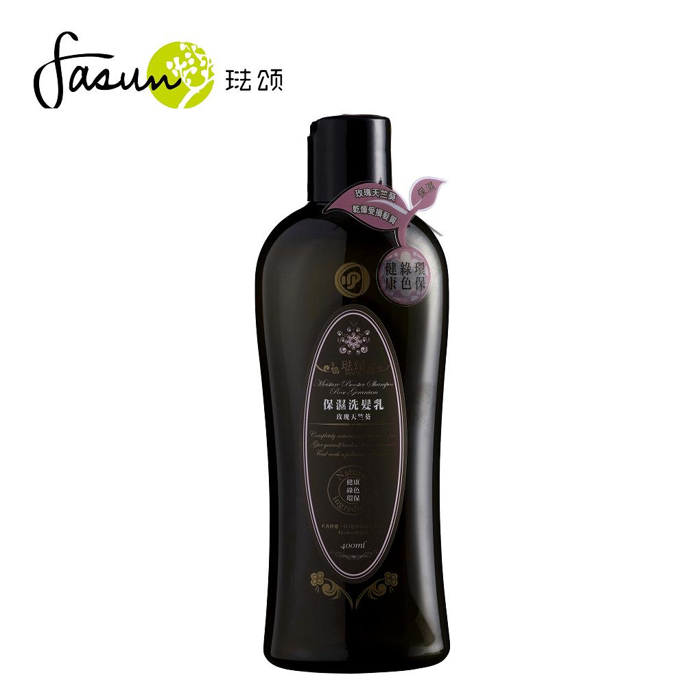 FASUN琺頌-保濕洗髮乳-玫瑰天竺葵 400ml / 1瓶