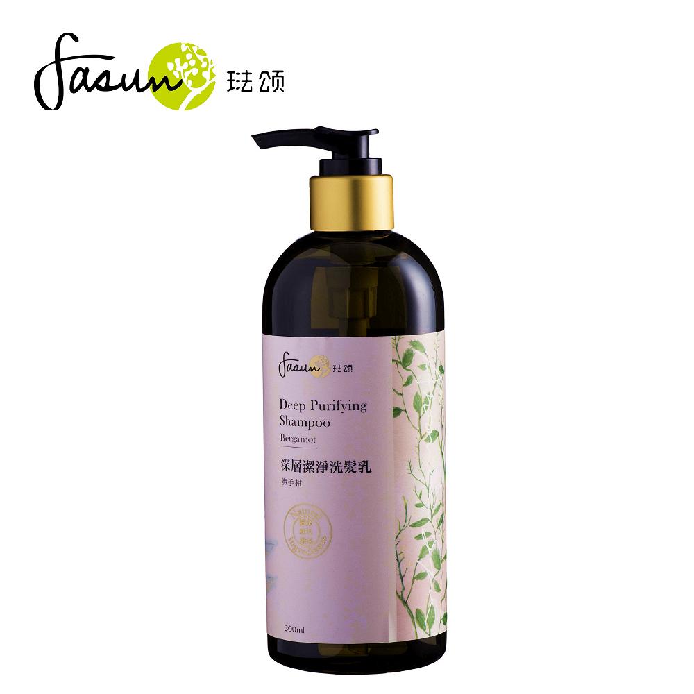 FASUN琺頌-SPA深層潔淨洗髮乳-佛手柑 300ml / 1瓶