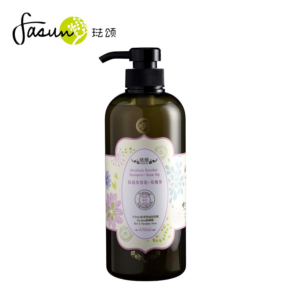 FASUN琺頌-保濕洗髮乳-玫瑰果 650ml / 1瓶