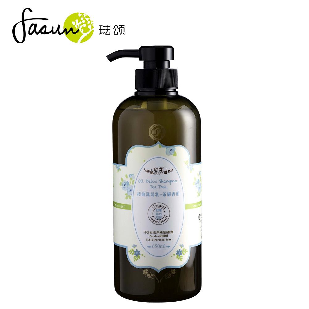 FASUN琺頌-控油洗髮乳-茶樹香柏  650ml / 1瓶