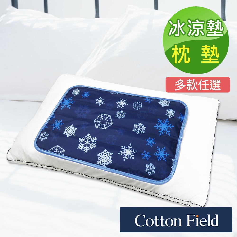 棉花田【冰晶花】極致酷涼冷凝枕墊萬用墊(30x45cm)